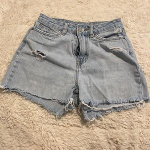 SWS Denim Co Mom Jean Shorts High Rise Size 1 90's